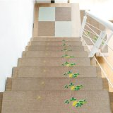 Embroidered Free Cutting Non-Slip Self-Adhesive Safety Stair Mat