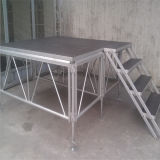 Manufacture Perfessional Truss Mobile Assemble Outdoor Light Weight Used Portable Cheaper Price DJ Stage