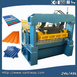 Glazed Tile Roof Cold Roll Forming Machine From China Mainland