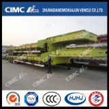 Standard 3axle Lowbed Semi Trailer in Stack