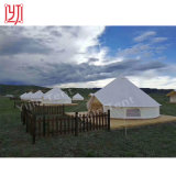 Durable Oxford Cover 5m Size Bell Tents Outdoor Resort Project Tent