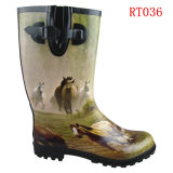 Men Fashion Rubber Rain Boot (RT036)