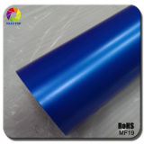 Tsautop Pearl Blue Matte Car Wraps Vinyl for Car Wrapping