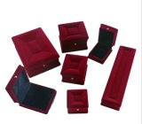 High-End Jewelry Box Velvet Jewellery Box Flocking Pendant Box Ring Box Custom Logo Sofa Box