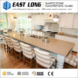 Durable Smooth Artificial Quartz Stone for Bar Tabletops