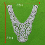 Eyelet Appliques Water Soluble Cotton Lace Collar (cn60)