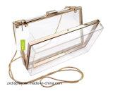 Transparent Acrylic Evening Handbag Purse Bag Clutch Bag