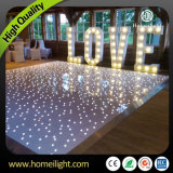 LED Starlit dance floor for wedding party disco
