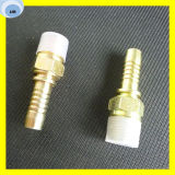 Straight Male BSPT Hydraulic Hose End Coupling