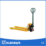 2000kg PU Manual Hydraulic Forklift Truck Factory Transport Pallet Equipment 1150mm with CE
