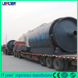 Used /Waste Plastic Rubber Tyre Recycling Pyrolysis Machine to Fuel Oil Refining 10 Tons