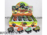 New Design Kids Plastic Pull Back Dinosaur Car