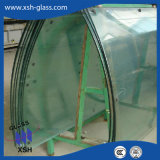 Cheap Bent 6mm 8mm 10mm 12mm Clear Curved Tempered Glass for Building