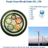 Fdef-25 Copper Core Ethylene Propylene Rubber Insulated Neoprene Sheathed Twisted Resistant Flexible Cable for Wind Power Generation