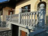 Cheap Grey Granite Handrail Stone Balustrade for Balcony/Terrace