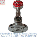 Flanged Sight Flow Indicators with Control Valve