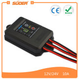 Suoer PWM 10A 12V Waterproof Solar Charge Controller (ST-F1210)
