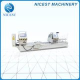 Factory Direct Sale 2 Years Warranty Time Cheap Manual Aluminum & PVC Profile Double Head Cutting Saw Machine Window Door Machine Window Door Machinery