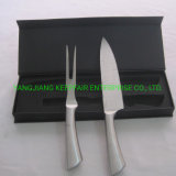 Stainless Steel Blade Hollow Handle Kitchen Knife and Fork