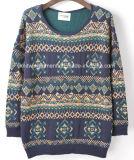 Women Winter Wool Heavy Sweater Coat (X-243)
