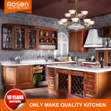 Wholesale Classic Style Mahogany Solid Wood Kitchen Cabinets Furniture