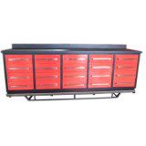 10FT 20drawer Garage Storage Tool Workbench Cabinet