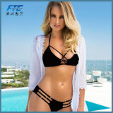 Colorful Fashion Two-Piece Mature Swimwears Bikini Swimsuit