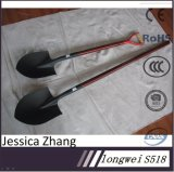 Agricultural Tools for Shovel with Wooden Handle S518 Spade