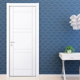 Oppein Simple Design White Matte Lacquer Wooden Door (MSPD11)