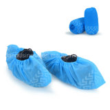 Anti-Slip Disposable Blue Shoe Cover