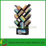 Simple Tree Shape Color DIY Melamine Board Bookshelf