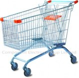 European Shopping Mesh Trolley Shopping Cart
