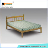 Pine Wood Furniture Bedroom Single Bed