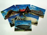 2019 High Quality Customized Postcard Lenticular 3D Postcard