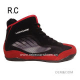 Wholesale Fashion Style Men's Boxing Shoe Low Cut Wrestling Shoe Breathable Kick Boxing Shoe