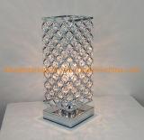 Metal Crystal Table Lamp (WHT-414)
