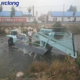 Lake Water Hyacinth Grass Reed Mower/Cutting Machine/Removal Equipment/ Aquatic Weed Harvester Cutter