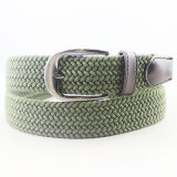 35mm Wide Single Color Stretch Belt / Elastic Belt with Competitive Price