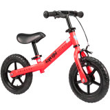 Red Color Foam Tire Balance Bike Push Bike for Kids to Increase Confidence