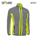 100% Polyester High Visibility Riding Clothing Reflective Safety Cycling Clothing