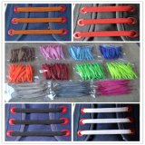 High Quality 7.5cm Length No Need Tie U Flat Elastic Shoelaces