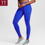 Polyester Spandex Yoga Fitness Young Girls blue Running Yoga Leggings