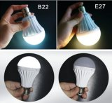 5W 7W 9W 12W Rechargeable Emergency LED Bulb with Backup Battery