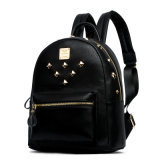 2016 Newest Studded Punk Stylish Fashion Leather Backpack