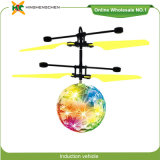 7 Colour Crystal Ball Induction Aircraft Drone Helicopters for Sale