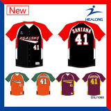High Quality Healong Custom Cheap Sublimation Baseball Jerseys Uniform Clothing