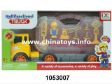 Promotion Gift Plastic Toys Slide Car, Feel Wheel Truck (1053007)