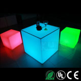 Tough Plastic Cube Chair and Tables