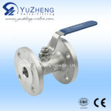 1PC Flange Ball Valve Integrate Body