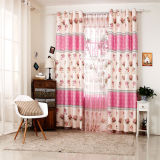 Countryside Style Print Curtain Fashion Curtain (KS-149)